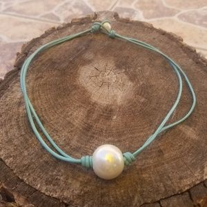 New handmade PEARL necklace